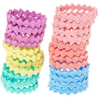 Claire's Club Pastel Wave Hair Bobbles - 24 Pack - Ties Gifts
