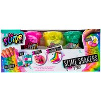 Claire's So Slime Diy Rainbow Slime Shakers 3 Pack- Mixed Colours - Diy Gifts