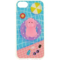 Claire's Pool Side Hippo Squishy Phone Case - Hippo Gifts