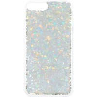 Claire's Holographic Glitter Phone Case - Silver - Phone Case Gifts