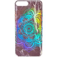 Claire's Black Marble Holographic Mandala Phone Case - Phone Case Gifts