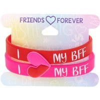 Claire's I Heart My Bff Friendship Bracelets - 2 Pack - Friendship Gifts