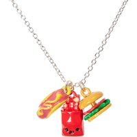 Claire's Fast Food Charms Necklace - Charms Gifts