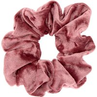 Claire's Medium Velvet Hair Scrunchie - Mauve Pink - Pink Gifts