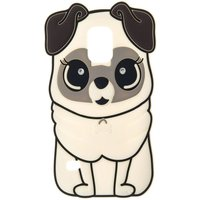 Claire's White Silicone Pug Phone Case - Fits Samsung Galaxy S5 - Phone Gifts