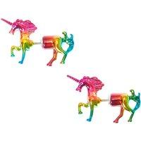 Claire's Front Back Metallic Rainbow Unicorns - Unicorns Gifts