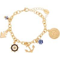 Claire's Gold Nautical Charm Bracelet - Charm Bracelet Gifts