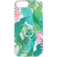 Claire's Tropical Leaves Square Protective Phone Case - Phone Case Gifts