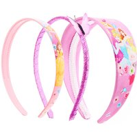 Claire's 3 Pack Disney Princess Pink Butterfly Headbands - Disney Princess Gifts