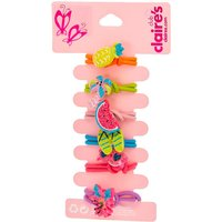 Claire's Kids Glittery Beach Bum Knocker Beads Hair Bobbles - Ties Gifts