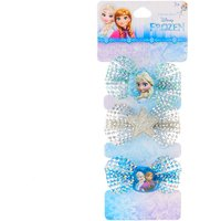 Claire's Sparkly Frozen Bow Hairclips - Sparkly Gifts