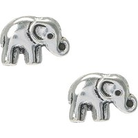 Claire's Sterling Silver Boho Elephant Stud Earrings - Elephant Gifts