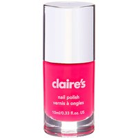 Claire's Solid Nail Polish - Neon Pink - Nail Gifts