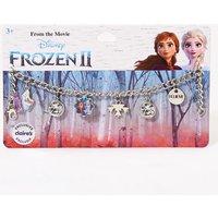 Claire's ©Disney Frozen 2 Charm Bracelet - Silver - Disney Jewellery Gifts
