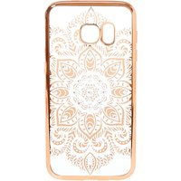 Claire's Gold Crystal Detail Mandala Phone Case - Fits Samsung Galaxy S7 - Phone Gifts