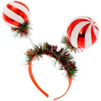 Claire's Ornament Deely Bopper Headband - Red - Ornament Gifts