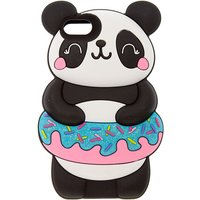 Claire's Panda With Donut Float Ipod Touch 5/6 Case - Black - Ipod Gifts