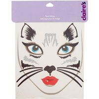 Claire's Black Cat Face Tattoos - Tattoos Gifts