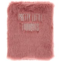 Claire's Pretty Thoughts Furry Diary - Purple - Pretty Gifts