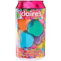 Claire's Candy Collection Bath Bomb Can Set - 12 Pack - Candy Gifts