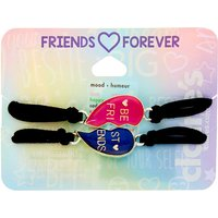 Claire's Mood Heart Stretch Friendship Bracelets - 2 Pack - Friendship Gifts