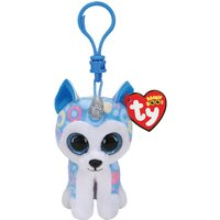 Claire's Ty Beanie Boo Helena The Husky Keyring Clip - Keyring Gifts