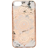 Claire's Rose Gold Marble Protective Phone Case - Phone Gifts