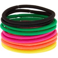 Claire's Tropical Hair Ties - 10 Pack - Ties Gifts
