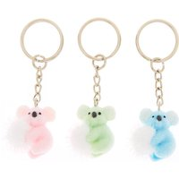 Claire's Best Friends Koala Pom Keychains - 3 Pack - Claires Gifts