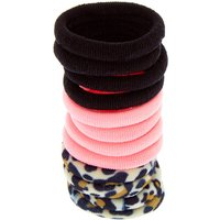 Claire's Club Leopard Print Hair Bobbles - 12 Pack - Leopard Print Gifts