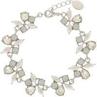 Claire's Silver Mermaid Pearl Statement Bracelet - Pearl Gifts