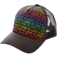Claire's Love Is Love Black Baseball Cap - Baseball Gifts