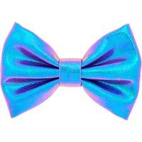 Claire's Mini Metallic Mermaid Hair Bow Clip - Lilac - Hair Gifts