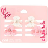 Claire's Club Crystal Hair Claws - 4 Pack - Hair Gifts