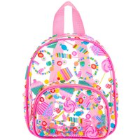Claire's Club Transparent Sweet Treats Small Backpack - Pink - Backpack Gifts