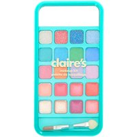 Claire's Cozy Critters Cell Phone Bling Makeup Set - Mint - Bling Gifts