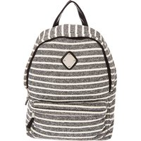 Claire's Black & White Striped Backpack - Backpack Gifts