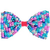 Claire's Party Sequin Hair Bow Clip - Fuchsia - Fuchsia Gifts