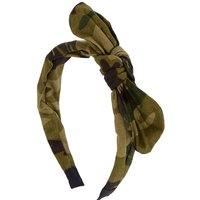 Claire's Camo Top Knot Bow Headband - Camo Gifts