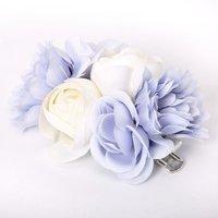 Claire's Bouquet Of Flowers Hair Clip - Blue - Bouquet Gifts