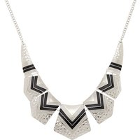 Claire's Silver Southwest Statement Necklace - Fashion Gifts