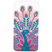 Claire's Crystal Peacock Phone Case - Fits Iphone Xs Max - Peacock Gifts