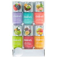 Claire's Neon Fruit Scented Nail Polish - 6 Pack - Nail Polish Gifts
