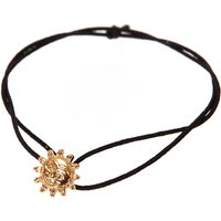 Claire's Gold Sun Thin Double Band Stretch Bracelet - Sun Gifts