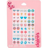 Claire's Claire's Club Glitter Animals Stick On Earrings - 30 Pack - Earrings Gifts
