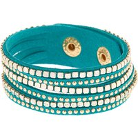 Claire's Western Wrap Bracelet - Turquoise - Turquoise Gifts