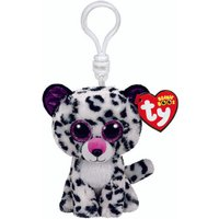 Claire's Ty Beanie Boo Violet The Leopard Keyring Clip - Leopard Gifts