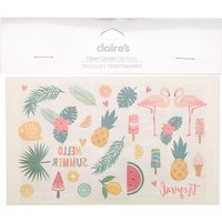 Claire's Summer Fun Temporary Tattoos - Summer Gifts