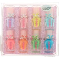 Claire's Club Nail Polish & Butterfly Rings Set - 8 Pack - Nail Polish Gifts