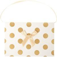 Claire's Gold Polka Dot Gift Card Holder - Polka Dot Gifts